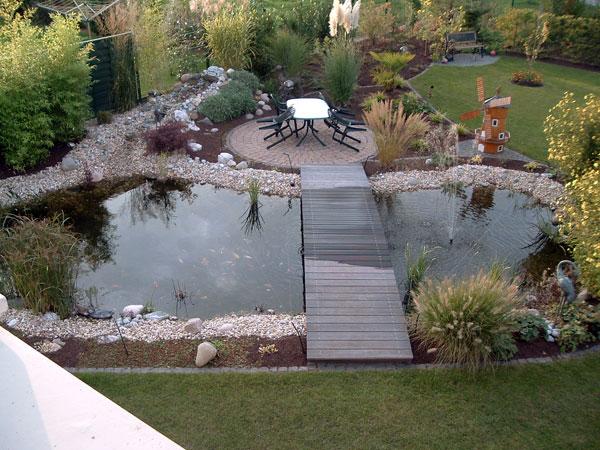 Gartengestaltung Renn Teichanlagen
